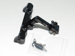 Yy-Madmax Axial SCX10 Aluminium Drop Remorque Attelage Noir
