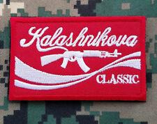 Kalashnikova Classic, Red AK47 Kalashnikova Russian Tactical Morale Hook Patch
