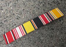Nastro ORIGINALE Fermaglio 7 riconoscimenti, tra l'altro RDC MEDAGLIA generale onorificenze