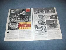 "1995 Harley-Davidson Sportster 1200 Vintage Info Article ""A Hog for Half Price.."