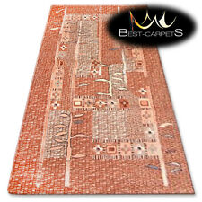 NATURAL WOOL AGNELLA RUGS cognac novelty thick and durable carpet