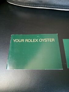 Rolex booklet your Rolex Oyster 2000 to 2009