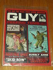 GUY #1 PEEPING TOMS LOU LARGO MYSTERY BUBBLY ANNE SKID ROW UK MAGAZINE~