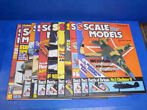 Scale Models International Magazine 1985 - 1989 Select From Back Issues