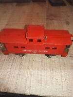 A. C Gilbert CO   American Flyer Lines Caboose, Used VGC