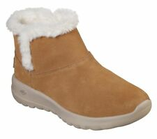 Skechers Women's on the Go Joy - Bundle Up 15501/CSNT Soft Suede Ankle Boots