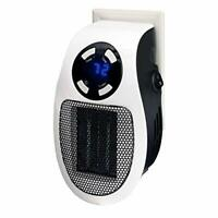 Optimus H7801 Mini Plug In Handy Heater With Thermostat With