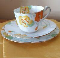 Antique Royal paragon fine bone china nastortium registered ro_no_744170