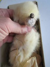 "VTG. PELHAM PUPPETS - POODLE MARIONETTE - HAND MADE IN ENGLAND - 13"" L BOX"
