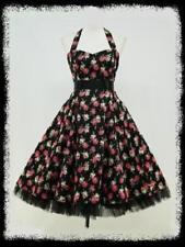 Rockabilly Plus Size Sleeveless Dresses for Women