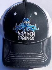 Kraken Springs Angry Hat Hood / Blue / White