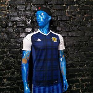 Scotland Team Jersey Home shirt 2015 - 2017 Adidas AI6602 Trikot Mens Size S