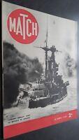 Revista Match Abril 1940 Coraza Inglés en la Batalla de Noruega ABE