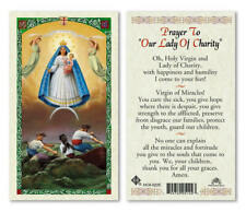 Prayer to Our Lady of Charity - Laminated Holy Card