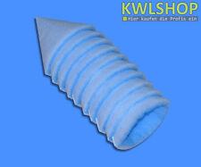 10 Filtre à cône G4 DN 100 ,150mm long pour cuisines, Force env. 15-18mm