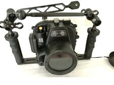 Meikon 40M Underwater Waterproof Camera Case housing for Canon 600D/T3I+arm tray