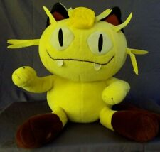 Pokemon Meowth - 1999- Giant Plush Stuffed Doll Hasbro Tomy Jumbo