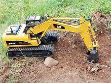 Canale 15 GRANDE Professional Escavatore telecomando Digger (metallo Scoop) JCB