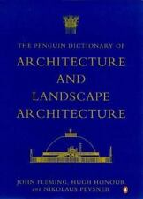 The Penguin Dictionary of Architecture and Landscape Architecture, 5th Edition