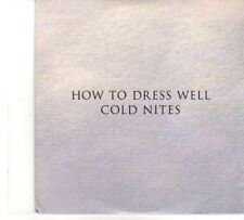 (DR161) How To Dress Well, Cold Nites - 2012 DJ CD
