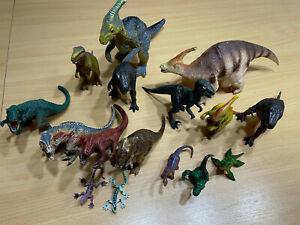 Dinosaurier Figuren Sammlung - Schleich und CO. 16 STK