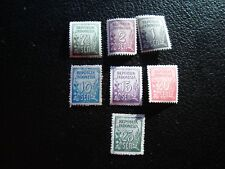 INDONESIE - timbre yvert et tellier n° 29 29A 31A a 35 n**(dos jauni) (A6) stamp