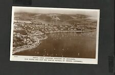 Aerial View Postcard  Idle Rock Braganza-Ship & Castle Hotels St Maws Cornwall