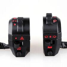 Universal 7/8'' Motorcycle Handlebar Horn Turn Signal Light Control Switch DC12V