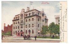 postcard Lincoln Nebraska NE