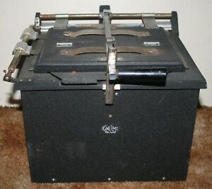 Vintage Gnome Photographic Senior Box Contact Printer - Film Developing - RARE