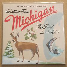SUFJAN STEVENS - Michigan ***US-Vinyl-2LP***NEW***sealed***older press***