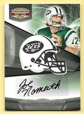 2009 Gridiron Gear NFL Teams Veteran Signatures #30 Joe Namath Autograph #23/50