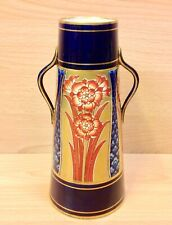 "James Macintyre ""Aurelian Ware"" Two Handled Tapering Vase."