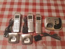 Panasonic Kx-Tgd220 Digital Cordless Telephone System with 3 Handsets