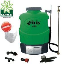 Pompa a batteria a zaino irroratrice a spalla elettrica vaporizzatrice 16 lt
