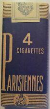 P4 - CIGARETTES PARISIENNES POUR COLLECTIONNEUR.