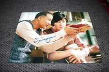 SIMON YAM signed Autogramm auf 20x27 cm Foto InPerson Hong Kong Film LOOK