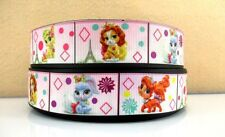 "1"" Disney Palace Pets Paris Grosgrain 4 Yards-Hair Bow Supply-Printed-Fabric"