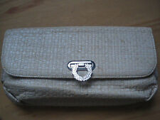 BNWB Amy Winehouse Fred Perry Straw Clutch Purse RARE!!