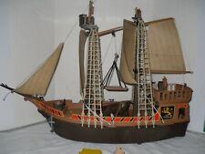 Bateau pirate Piratenschiff Barco Pirata Playmobil Pirate Ship 3550 1978  RARE
