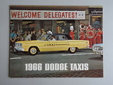 V00737 DODGE TAXIS BOOK 1966