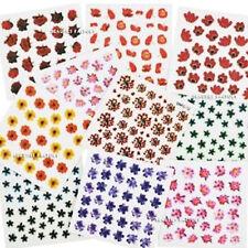 Decoración pegatinas de papel para uñas