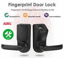 DIY ADEL LS9 Biometric Fingerprint Door/Gate Lock Password Mechanical Key Lock