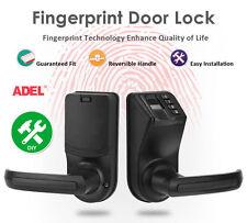 DIY ADEL LS9 Biometric Fingerprint Door/Gate Lock Password Mechanical Key Lock