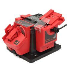 Multi Function Electric Sharpener Drill Bit Scissor Chisel Planer Grinding Wheel