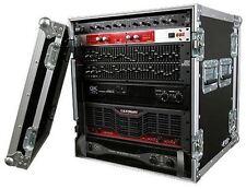 "Pro X T-12RSS 12U Amplifier Amp/Equipment ATA Rack Case w/4"" Wheels/Casters"