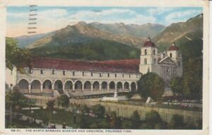The Santa Barbara Mission and Grounds gl1923 204.090