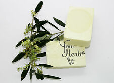 Greek Organic Hand Made 100% Extra Virgin Olive Olive Oil Soap 3 bars