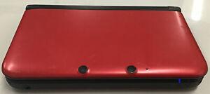 Nintendo New 3DS XL Light Red Handheld System, Fire Emblem Awakening Installed