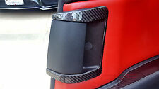 UNIQUE REAL CARBON FIBER REAR DOOR OPENER TRIM FOR MAZDA RX8 SE3P 13B MAZDASPEED